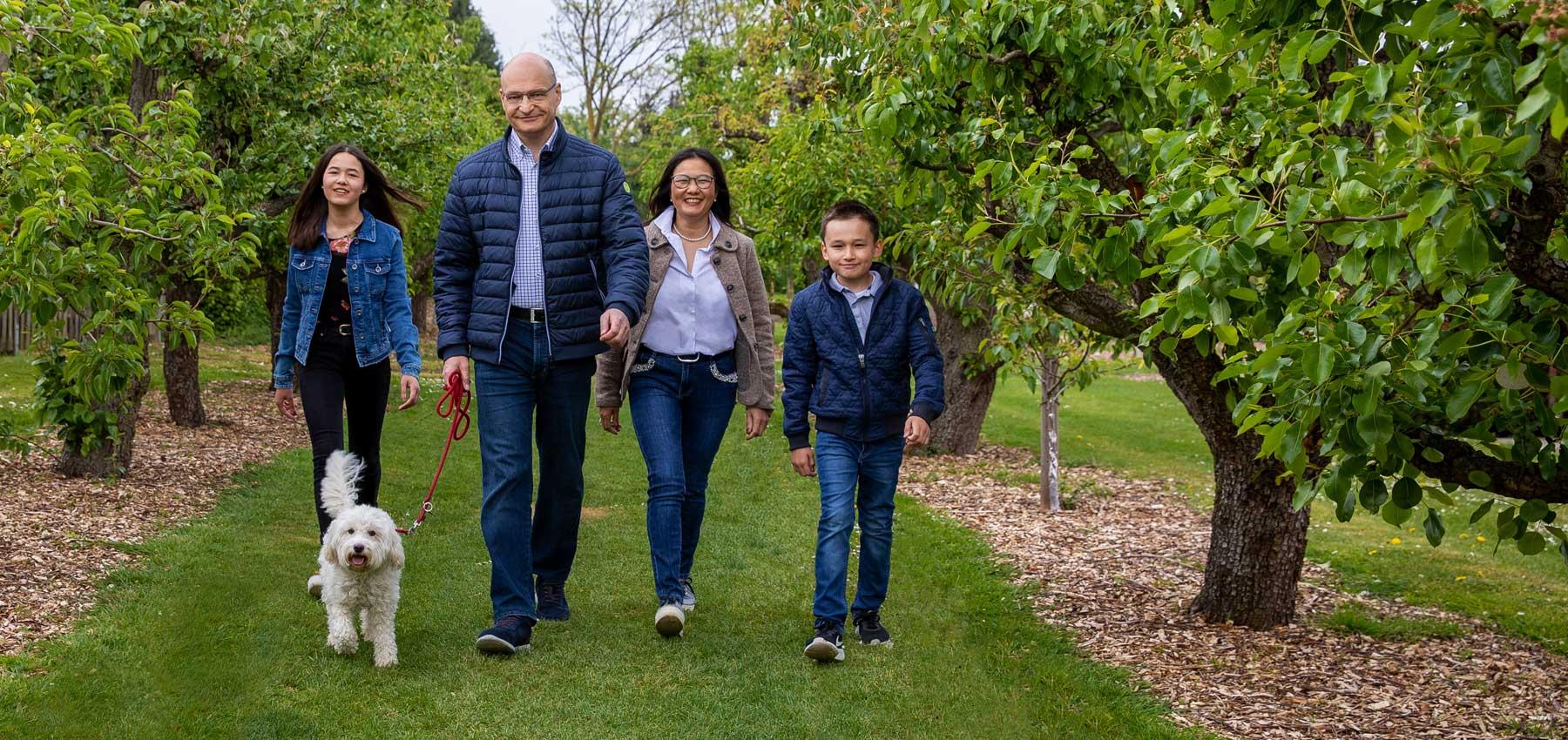 Dr. Martin Sommer Familie Landratskandidat Steinfurt