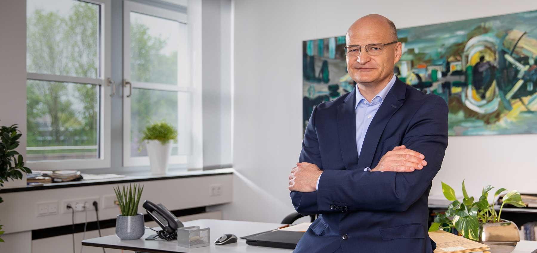 Dr. Martin Sommer Landratskandidat Kreis Steinfurt Büro
