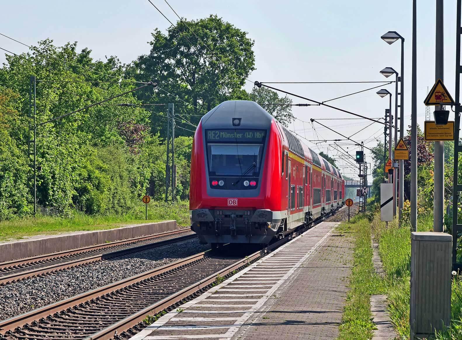 Dr. Martin Sommer Sicherheit Landratswahl Bahn Münster Enschede